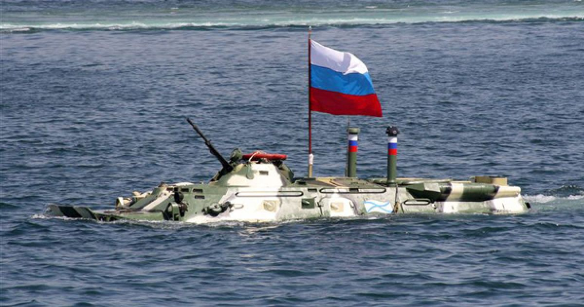 У параді приймуть участь 20 танків-амфібій. @ PHL.com.ua