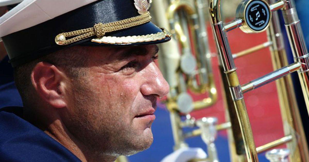 Репетиція військового оркестру. @ PHL.com.ua