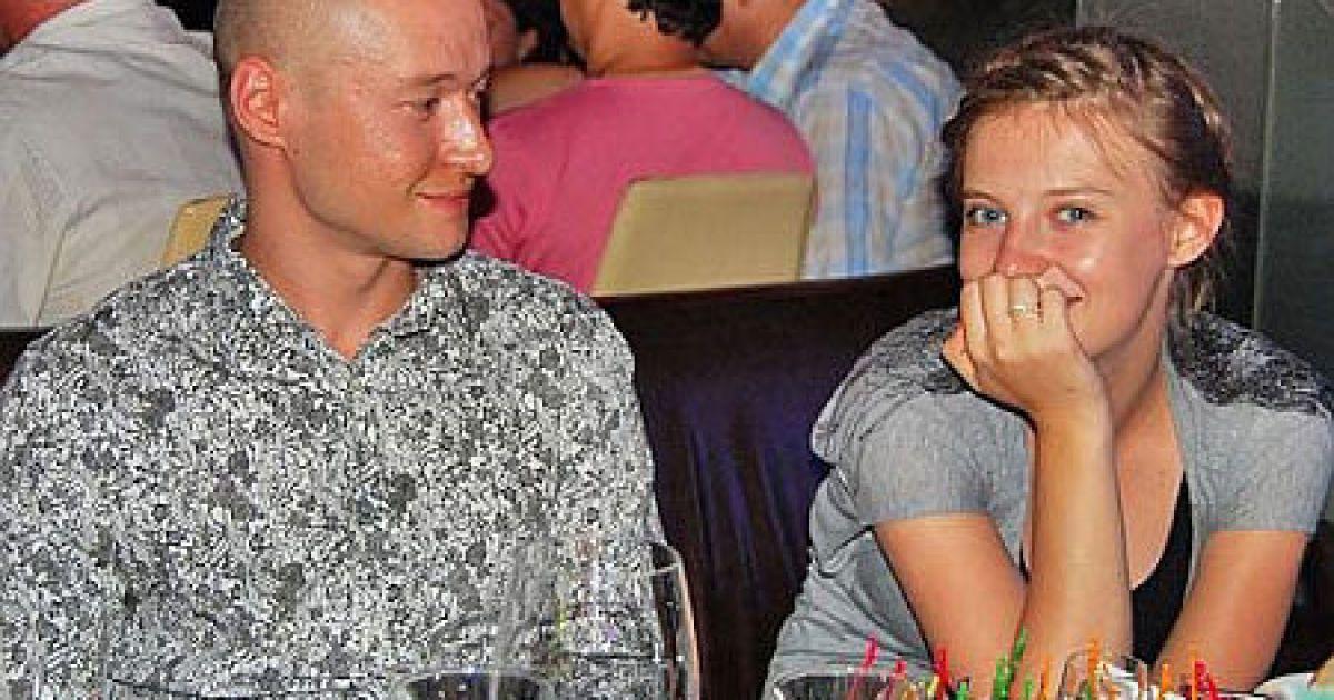 Андрей Хлывнюк и Анна Копылова @ Дуся