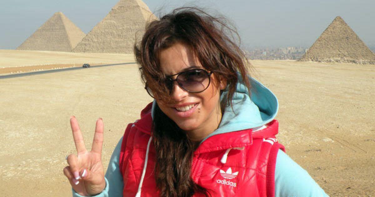 Ани Лорак побывала в Египте