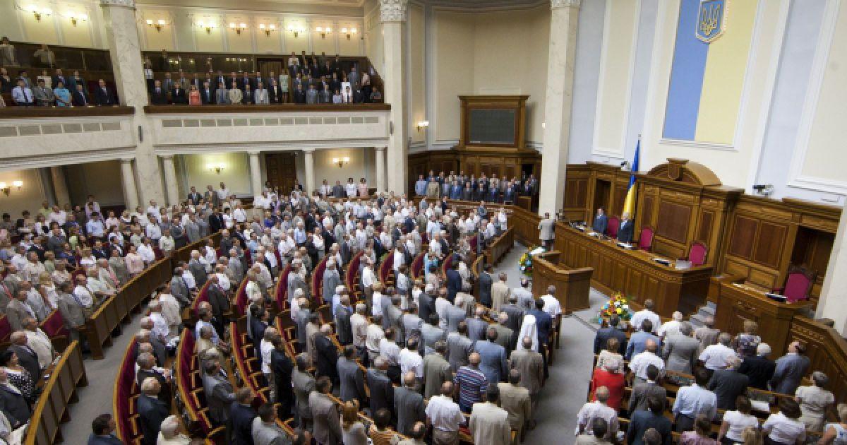 Торжественное заседание Верховной Рады Украины по случаю 20-летия государственного суверенитета Украины. @ Украинское фото