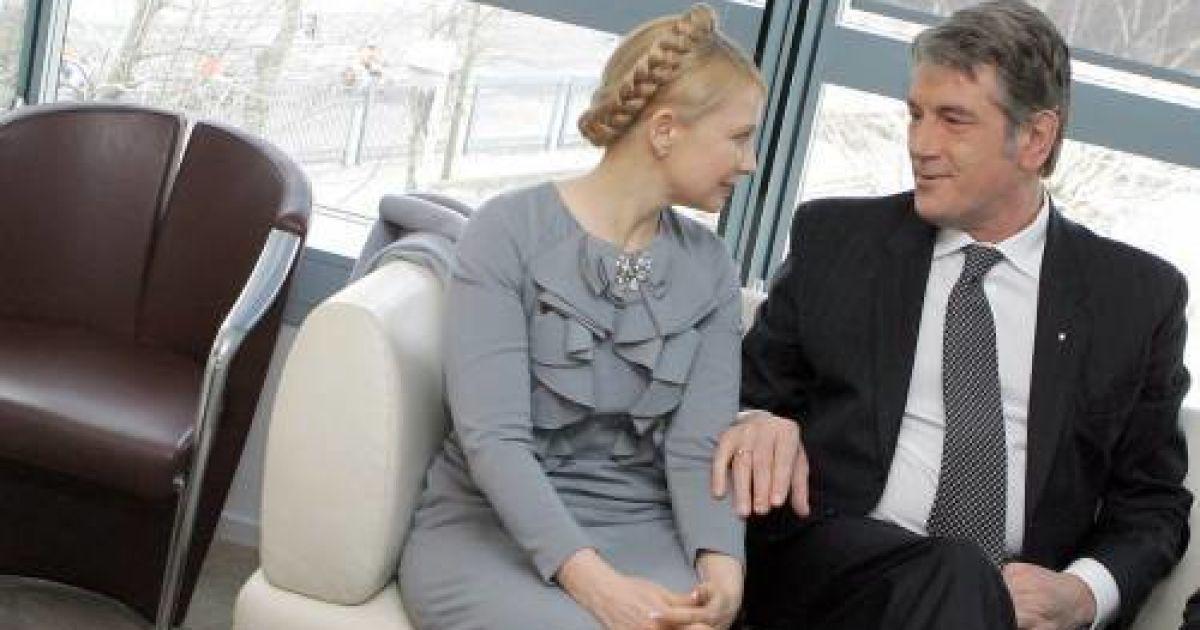 Секс тимошенко и ющенко
