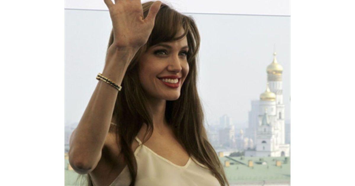 Анджеліна Джолі в Москві @ AFP