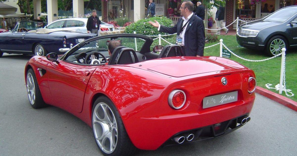Alfa Romeo 8C Spider @ eagleautoone.com