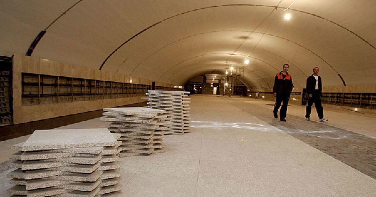 """У травні """"Київметробуд"""" активізував будівництво ділянки метро від """"Либідської"""" убік Теремків @ КМДА"""