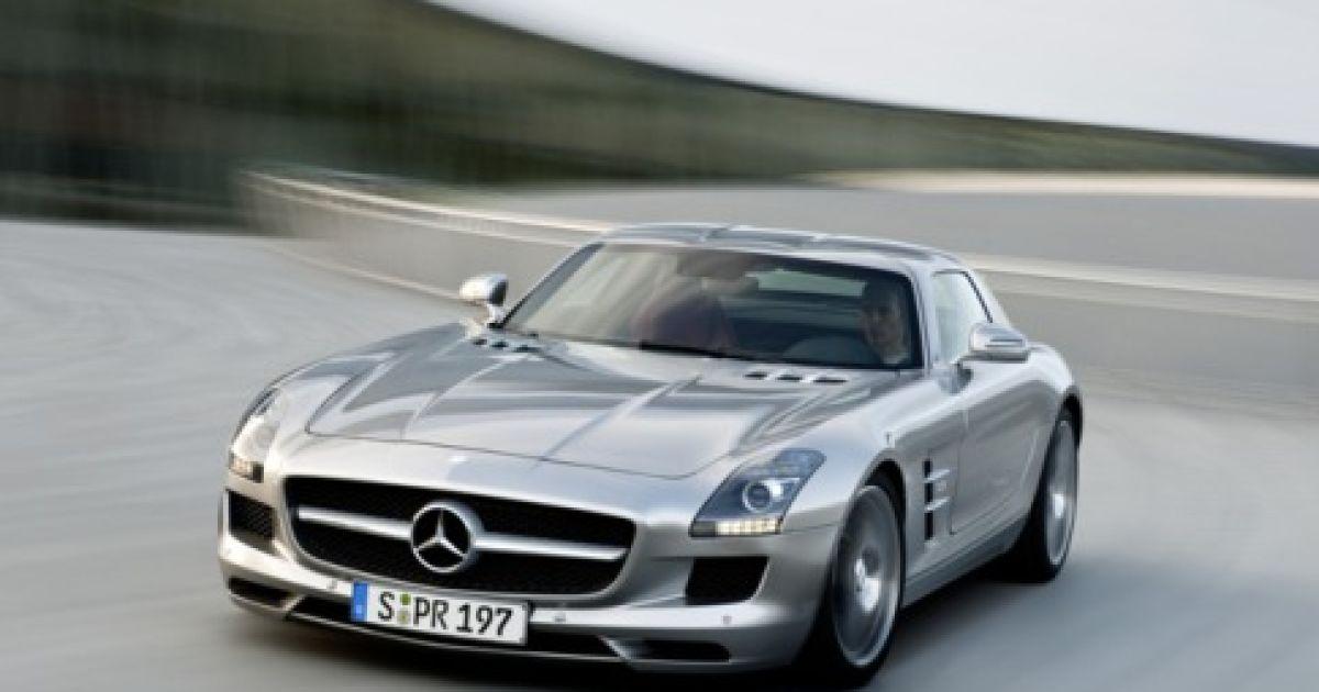 Mercedes SLS AMG @ Forbes