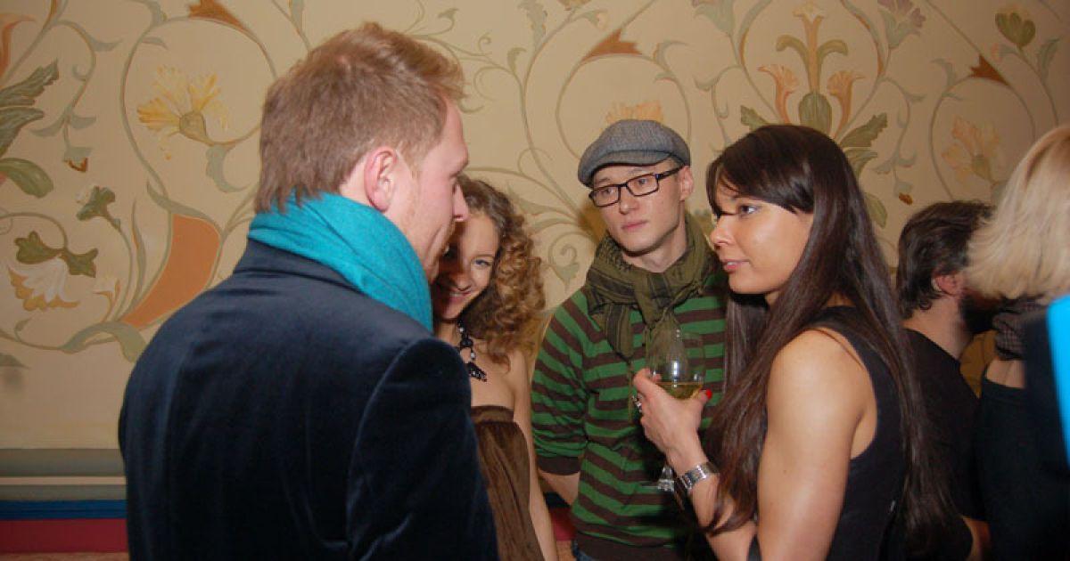 Андрей Хлывнюк с друзьями @ ТСН.ua