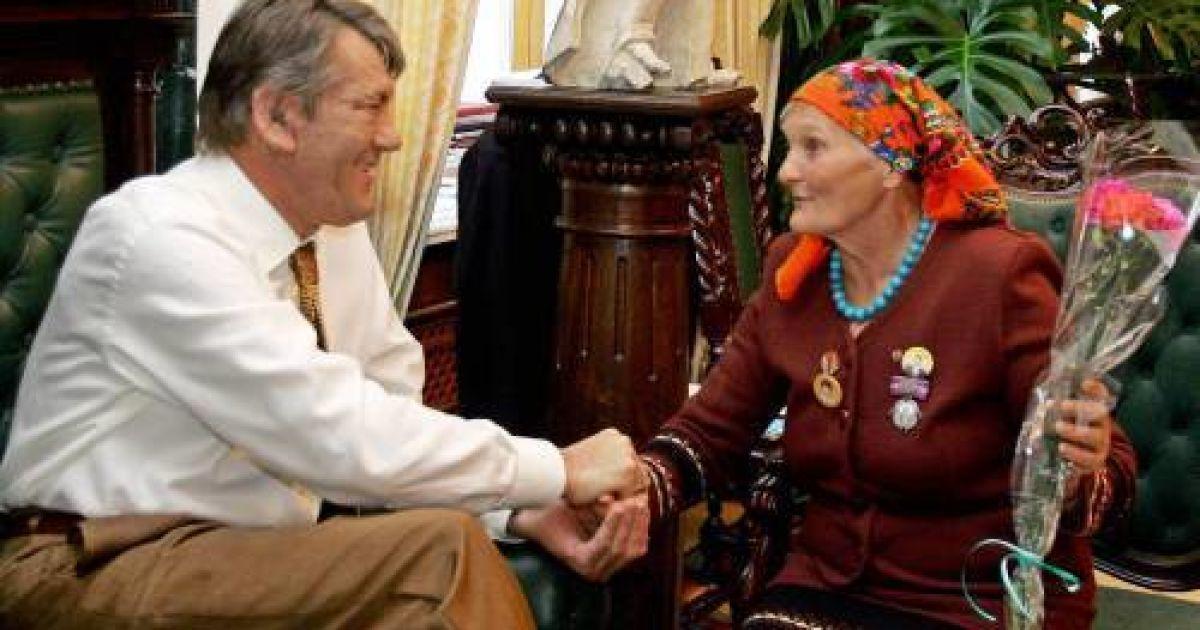 На похороны бабы Параски Тимошенко с Ющенко не приехали @ УНІАН
