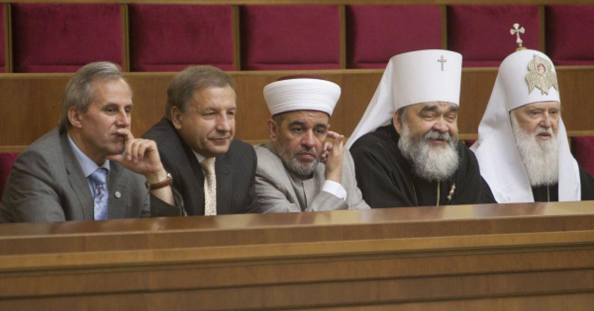 Представители разных конфессий посетили заседание торжественное ВР. @ Украинское фото