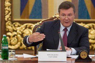 Янукович вибрав 10 першочергових для реалізації нацпроектів