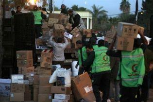 Израиль пропустил в сектор Газа гуманитарную помощь