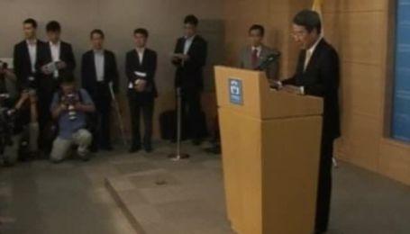 Премьер Южной Кореи подал в отставку