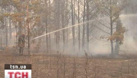 Близ Павлограда на Днепропетровщине ликвидирован крупный пожар