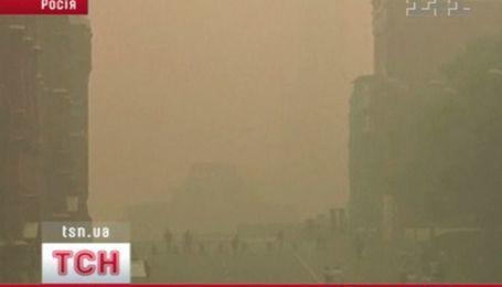В Москве снова ядовитый смог