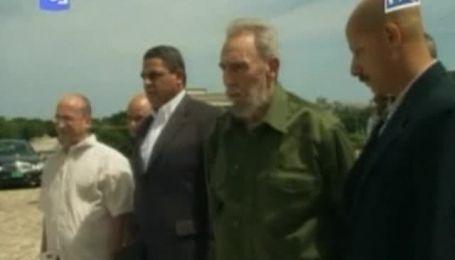 Фидель Кастро снова появился на публике