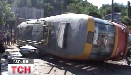 Авария трамвая в Одессе