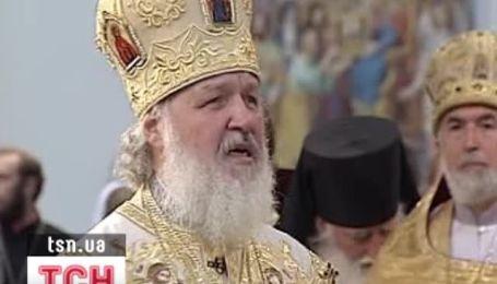 Патриарх Кирилл завершил визит в Украину литургией в Киево-Печерской Лавре