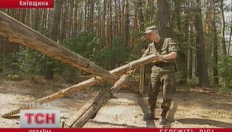 Пожары под Киевом