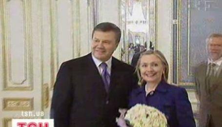 Хиллари Клинтон пожаловала в Украину