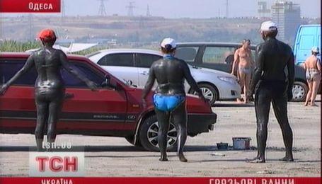 Массовое паломничество под Одессой