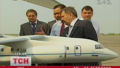 Новый украинский самолет Ан-158 представили в столице Татарстана