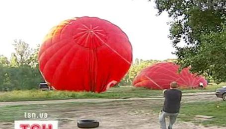 Воздушные шары не смогли покорить киевское небо