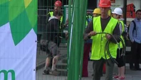 Greenpeace заблокировал все заправки BP в Лондоне