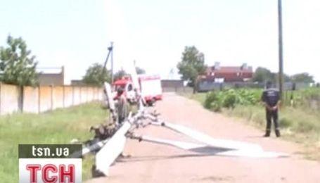 В Херсонской области разбился вертолет