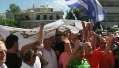 В Греции произошли столкновения между полицией и водителями грузовиков