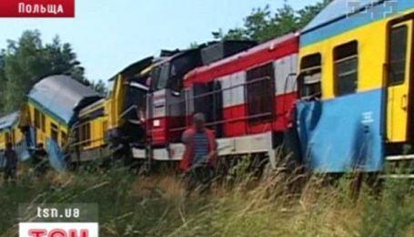 В Польше столкнулись два пассажирских поезда
