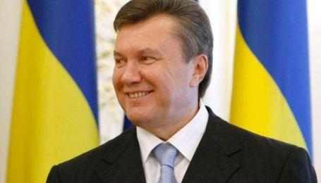 Януковичу исполнилось 60
