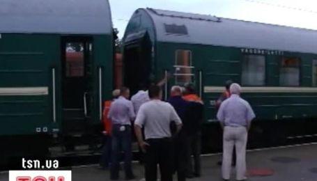 """Поезд """"Москва-Ужгород"""" сошел с рельсов"""
