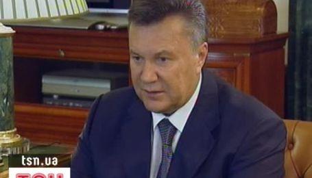 Янукович приказал правительству сдержать цены на хлеб