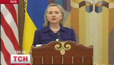 Результаты первого дня визита Хиллари Клинтон