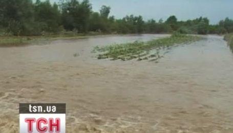 На Львовщине из-за паводка объявлена чрезвычайная ситуация