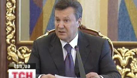 Янукович пообещал радикально наказать министра обороны