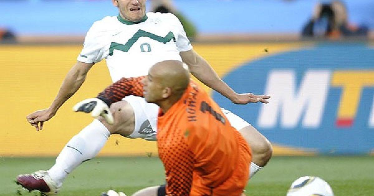 На 41-й хвилині гри Любіянкіч забив другий гол у ворота американців @ AFP