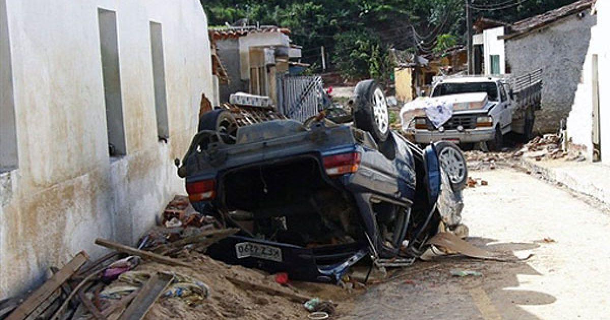 Всього в північно-східному регіоні Бразилії від удару стихії загинули 38 людей. @ AFP