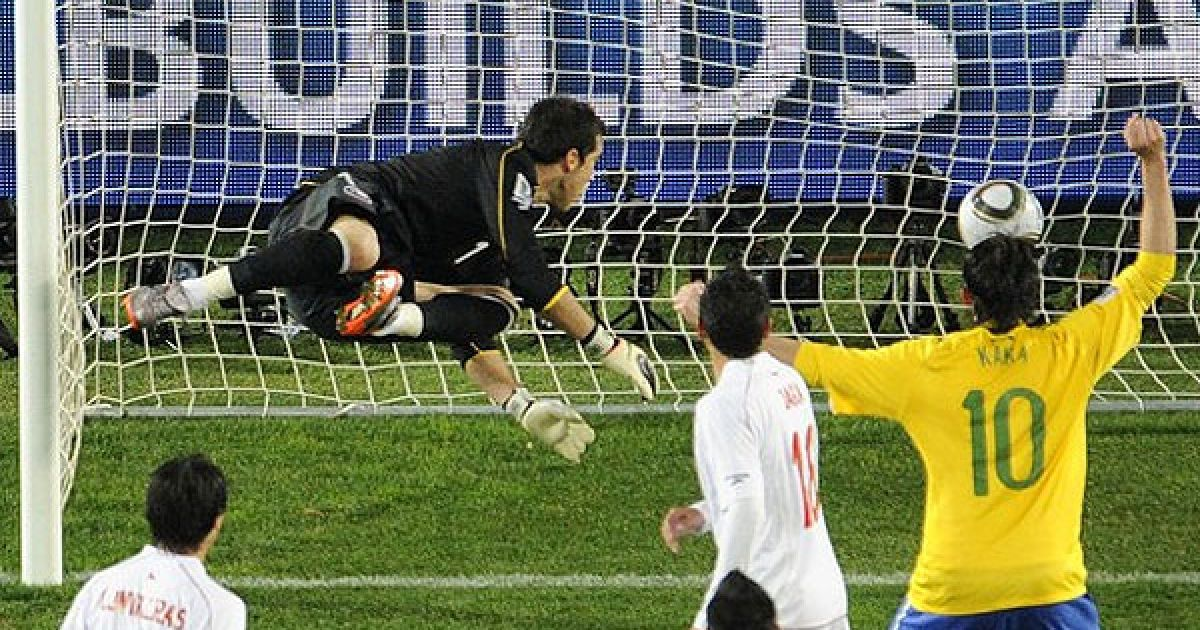 Клаудіо Браво не зміг врятувати ворота від удару Жуана @ Getty Images/Fotobank