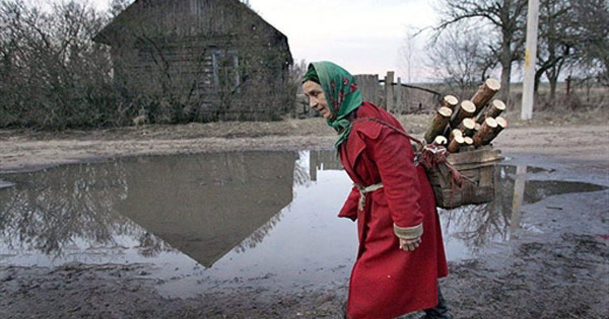 Білорусь, село Новоселки, 30-км зона. @ AFP
