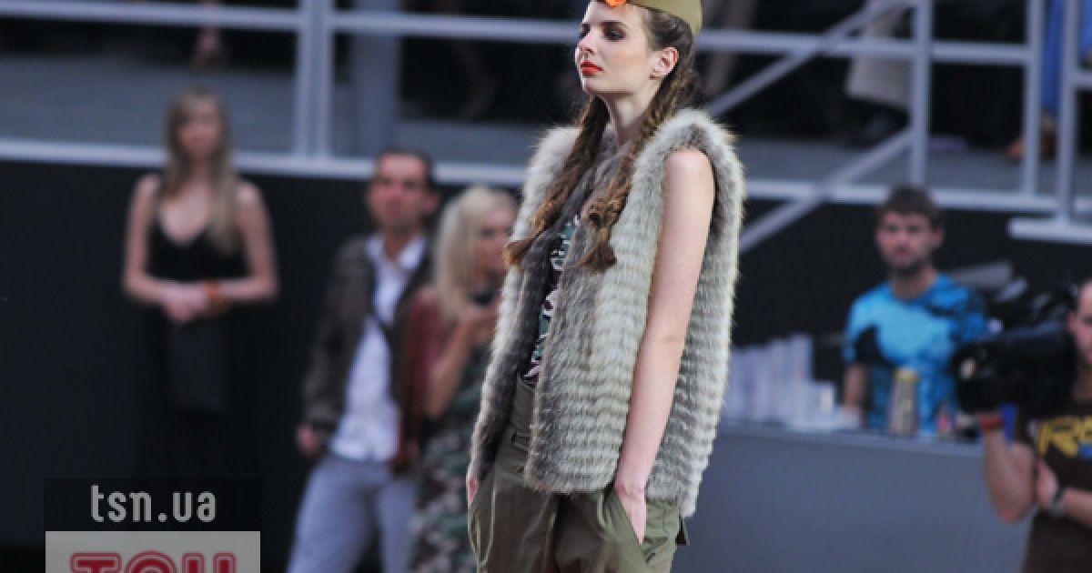 Ольга Альонова представила колекцію одягу зі шкіри @ ТСН.ua