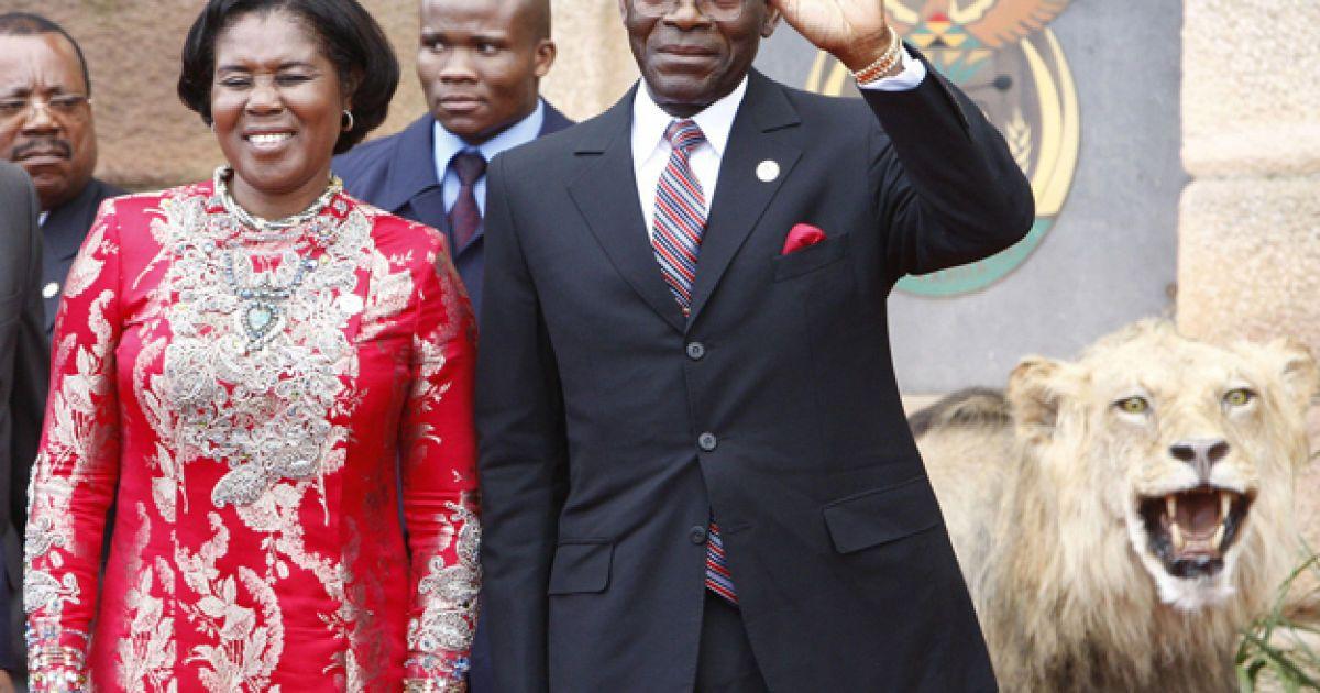 Теодоро Обианг Нгема Мбасого @ AFP