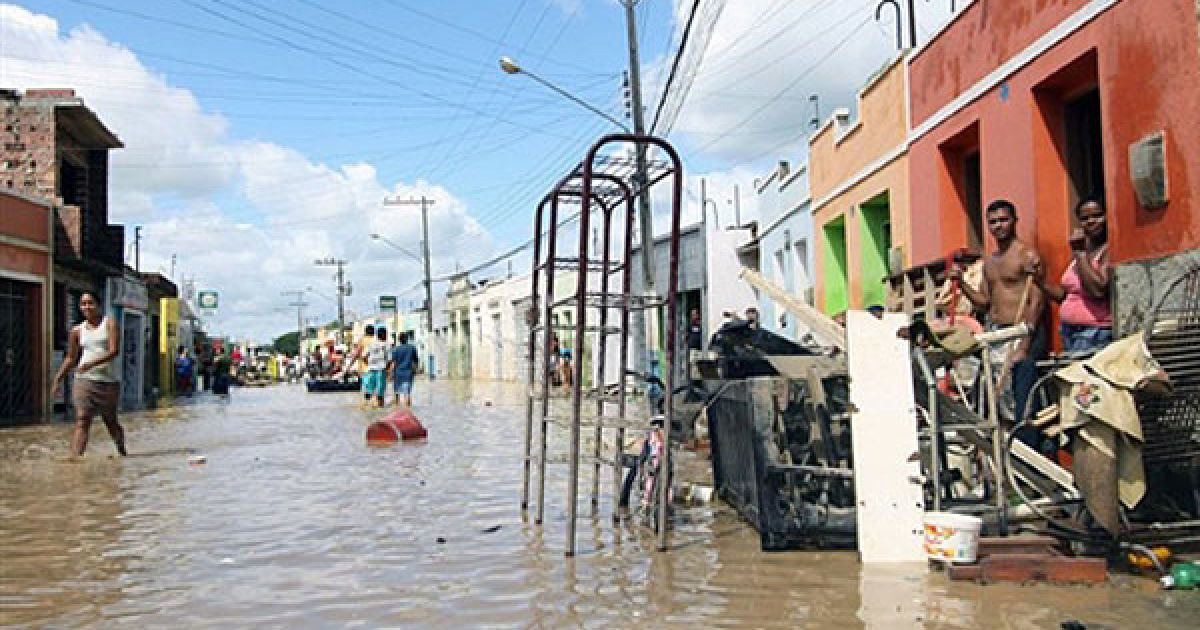 У бразильському штаті Алагоас оголошено надзвичайний стан. @ AFP