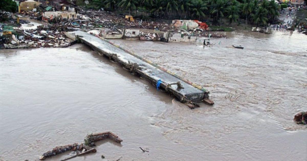 Бразилія потерпає від стихійного лиха. @ AFP