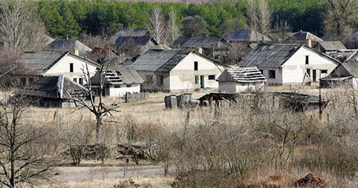 Білорусь, село Тулговичі. До аварії на ЧАЕС у Тілговичах мешкало більше 2 тисяч людей. @ AFP