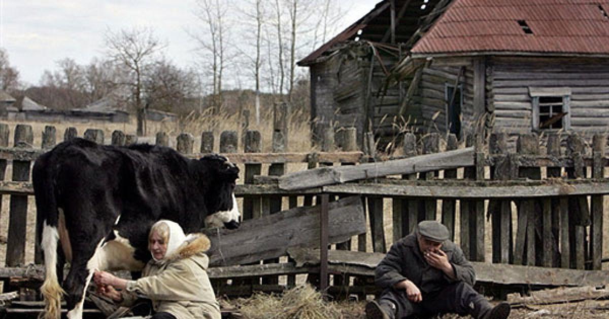 Білорусь, Тулговичі, 30-км зона. @ AFP