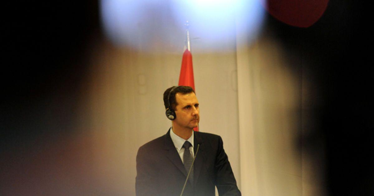 Башар аль-Асад @ AFP