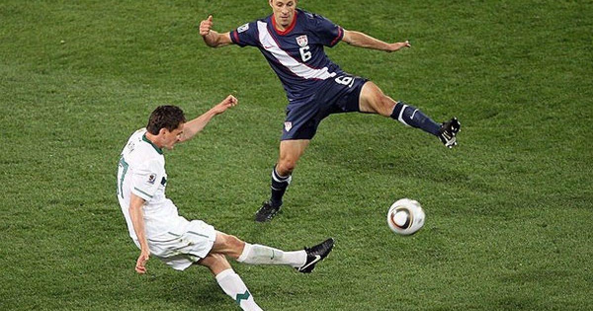 Збірна США зіграла внічию у матчі зі Словенією з рахунком 2:2. @ Getty Images/Fotobank