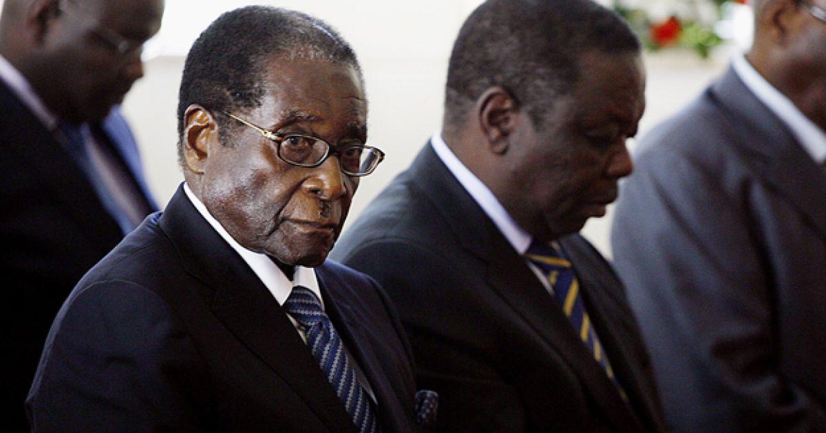 Роберт Мугабе @ AFP