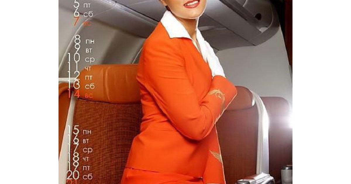 Керівництво авіакомпанії не одразу однозначно визначило свою позицію щодо скандальної фотосесії. @ adme.ru